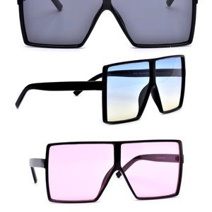Other - Pink Unisex oversized square Sunglasses 🕶